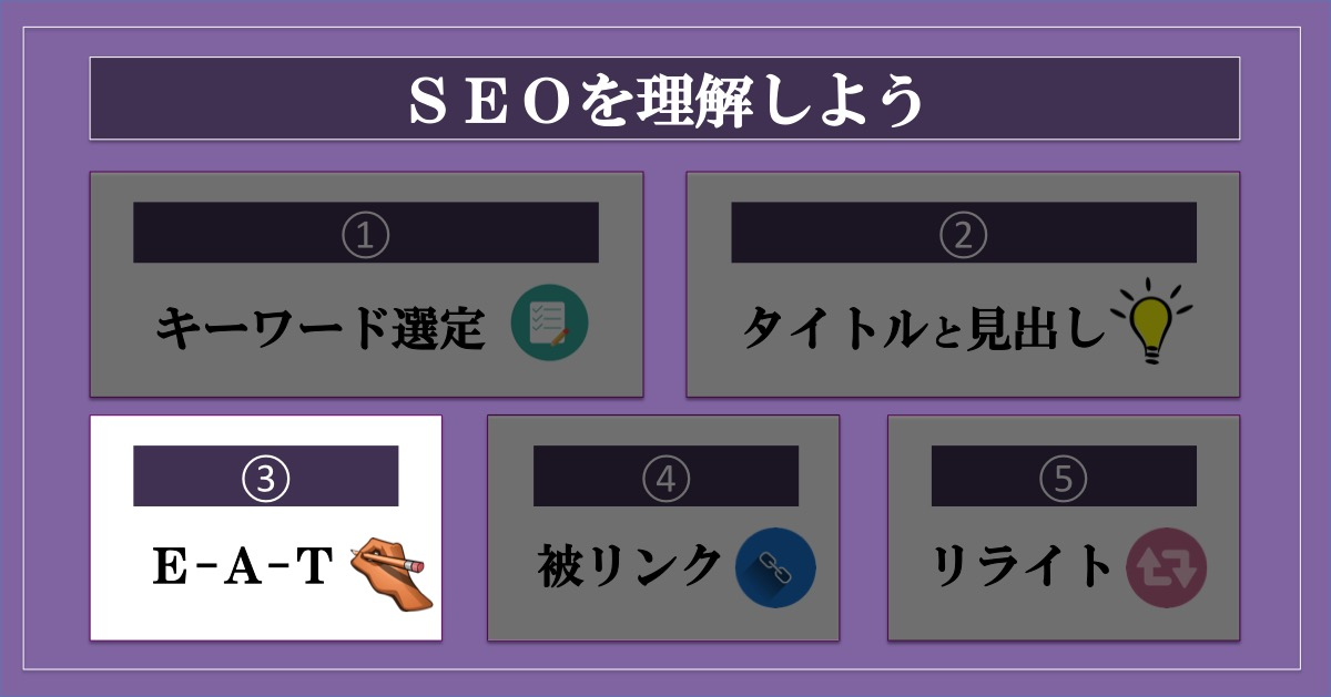ブログのアクセス数を増やす方法SEO_E-A-T