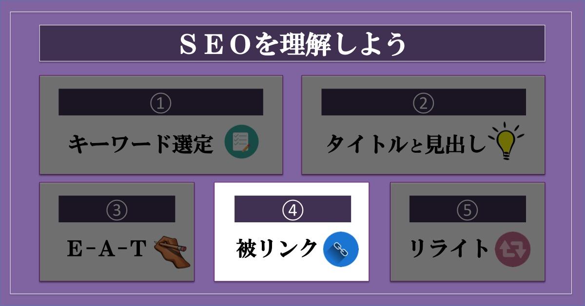 ブログのアクセス数を増やす方法SEO_被リンク