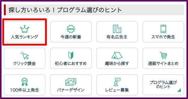 a8net_人気ランキング