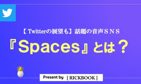 Twitterの音声SNS『Spaces』って?【今後のTwitterの展望を読み解く】